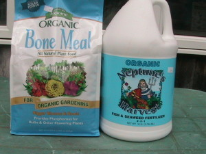 Bone Meal and Neptune Harvest